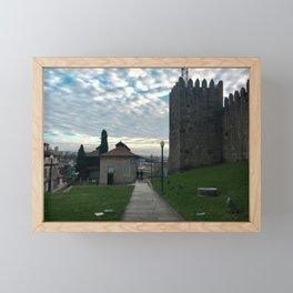 Muralha Framed Mini Art Print