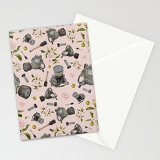 Don't stop to smell the roses Stationery Cards