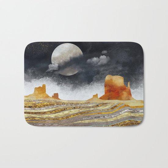 Metallic Desert Bath Mat