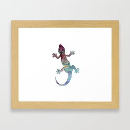 Gecko Framed Art Print