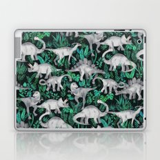 Dinosaur Jungle Laptop & iPad Skin