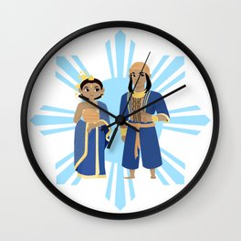Philippines: Nobles and Royals Wall Clock