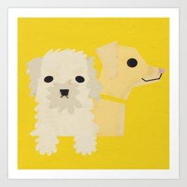 Dog_06 Art Print