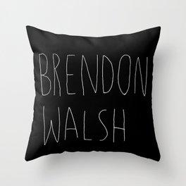 brendon walsh Throw Pillow