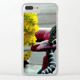 Side Swiped Clear iPhone Case