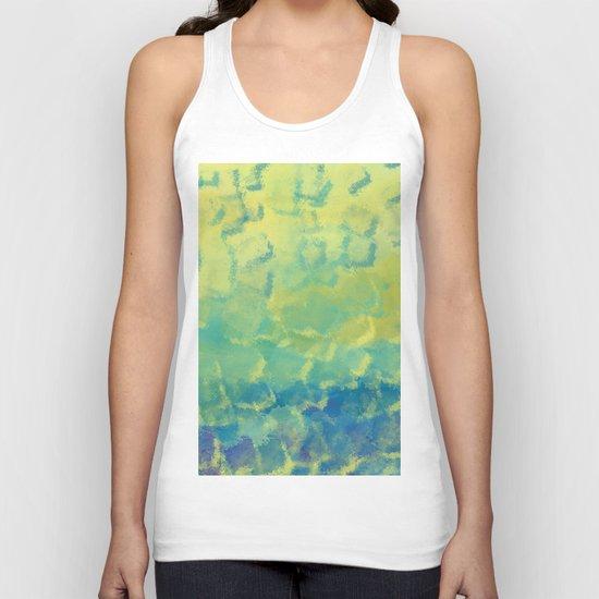 Watercolor Splash #1 #art #society6 Unisex Tank Top