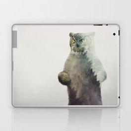 Owlbear in Forest Laptop & iPad Skin