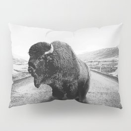 Lonely Hiker Pillow Sham