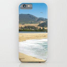 Carmel River State Beach, Carmel, California iPhone Case