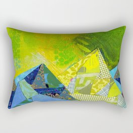Love You to the Mountains and Back Collage Rectangular Pillow