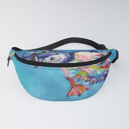 Flying puffin Fanny Pack