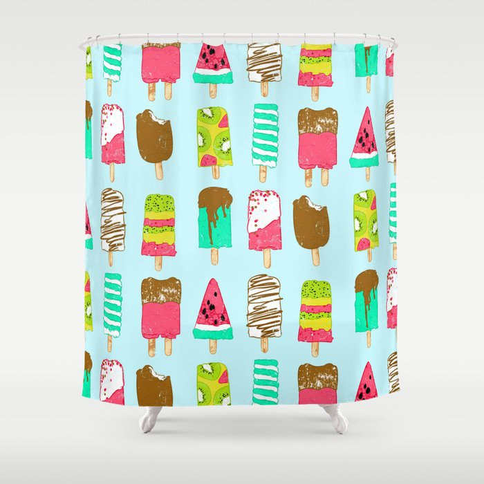 Ice Cream Time Shower Curtain