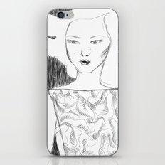 White Pollen iPhone & iPod Skin