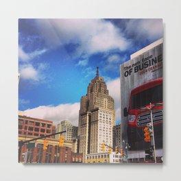 Detroit North American Auto Show  Metal Print