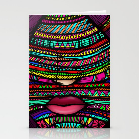 Colorful Roots (Color Version) Stationery Cards