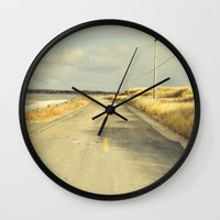 The Road to the Sea Wall Clock