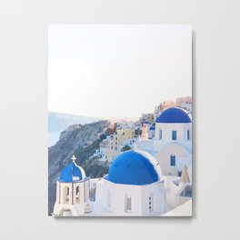 242. Santorini's View, Greece Metal Print