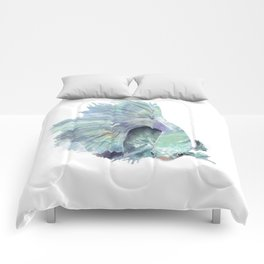 Abstract Fish Comforters