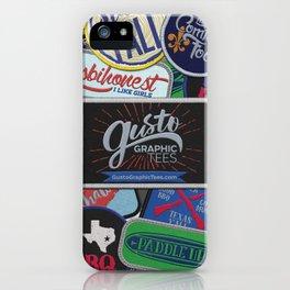 Patch Designs iPhone Case