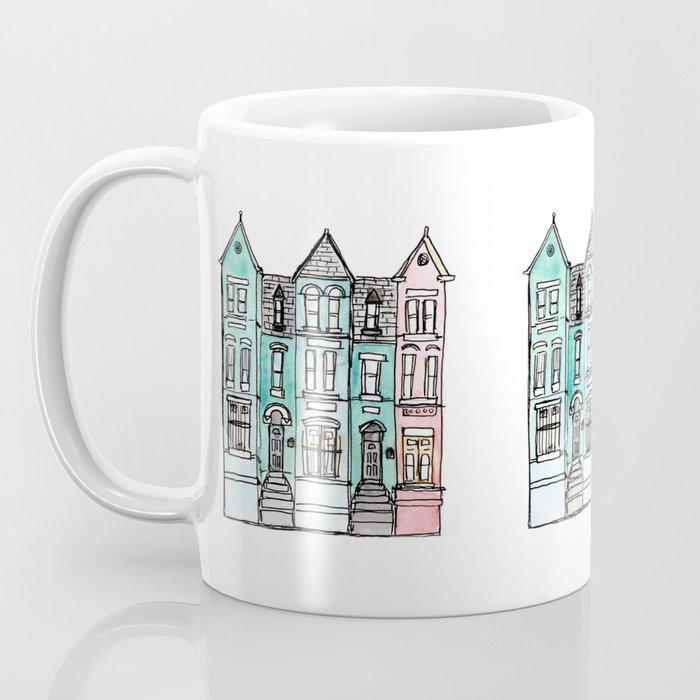 DC Row House No. 2 II U Street Coffee Mug