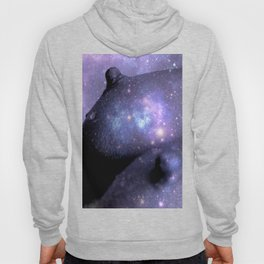Galaxy Breasts / Galaxy Boobs Purple Hoody