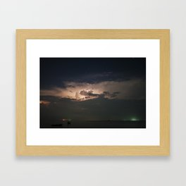 Storm's Coming Framed Art Print