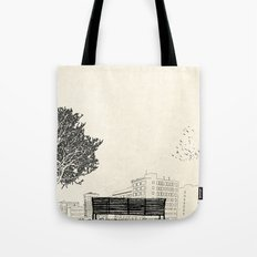 Tom's Favourite Spot — Angels Knoll Park, LA — (500) Days of Summer Tote Bag
