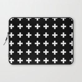 Swiss Cross Scandinavian Design Laptop Sleeve