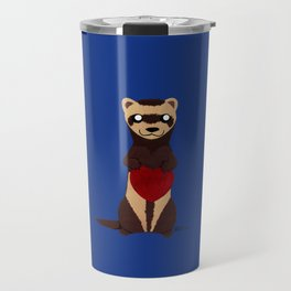 Lovely Ferret Travel Mug