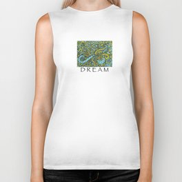 PAISLEY Dreams Biker Tank