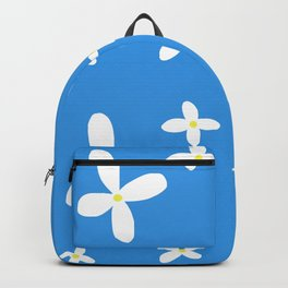 Classic Blue and White Flowers Backpack