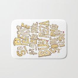 Buy Pizza Someplace Else! Bath Mat
