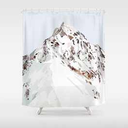 exploration of consciousness Shower Curtain