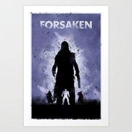 Forsaken Legend Art Print