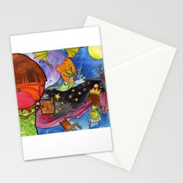 Fantasy Book Stationery Cards