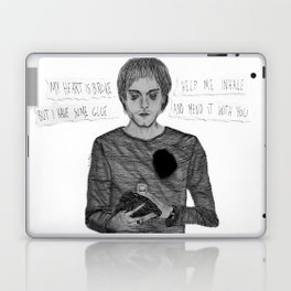 My heart is broke, but I have some glue Laptop & iPad Skin