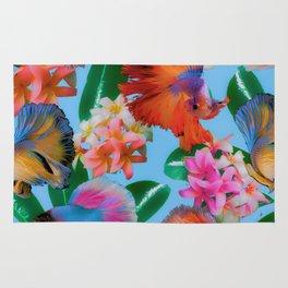 Hawaiian Print III Rug