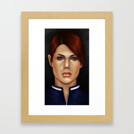 Agent Dark Framed Art Print