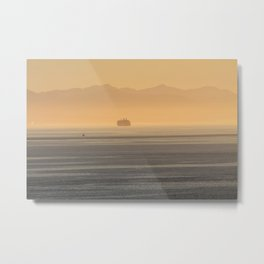 In the fog Metal Print