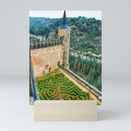 View from a Castle Tower Mini Art Print