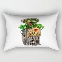 Trashy Rectangular Pillow
