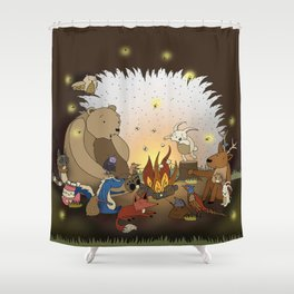 Woodland Tales Shower Curtain