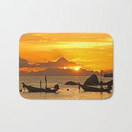 Sunset in Thailand Bath Mat