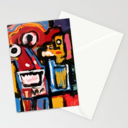 Art Brut Outsider Art Street Graffiti Stationery Cards