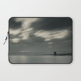 Lisbon in Black and White Laptop Sleeve