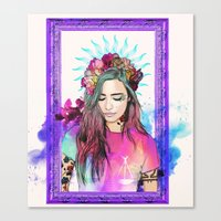 libra Canvas Prints featuring Libra by Sara Eshak