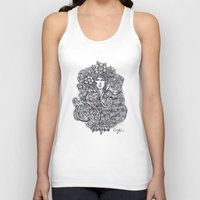 """flora Tank Tops featuring """"Flora"""" by Cindy Lysonski - Creative Daydreamzzzz"""