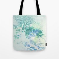 oriental Tote Bags featuring Oriental by Aniko Gajdocsi