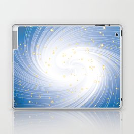 Stars, Light and Motion in space Laptop & iPad Skin