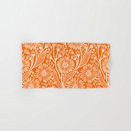 Marmalade Coneflowers Hand & Bath Towel